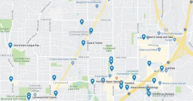 Lynnwood egg treasure hunt location. Courtesy of Lynnwood Arts Commission and the Lynnwood Parks & Recreation Foundation