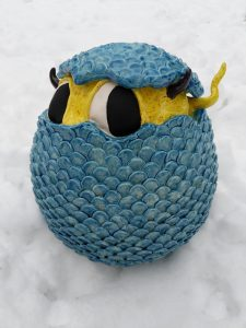 Hatching Harold egg