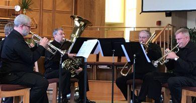 Cascade Symphony Orchestra brass quintet