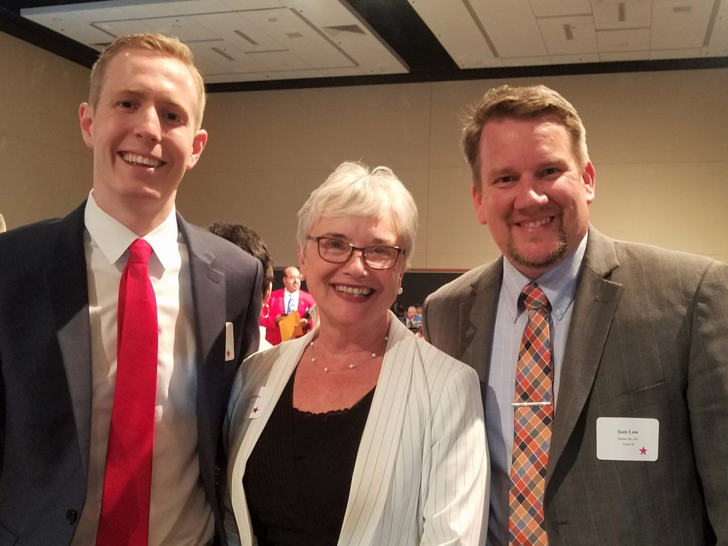 Left to right: Snohomish County Councilmember Nate Nehring, 39th LD Representative Carolyn Eslick and Snohomish County Councilmember Sam Low.