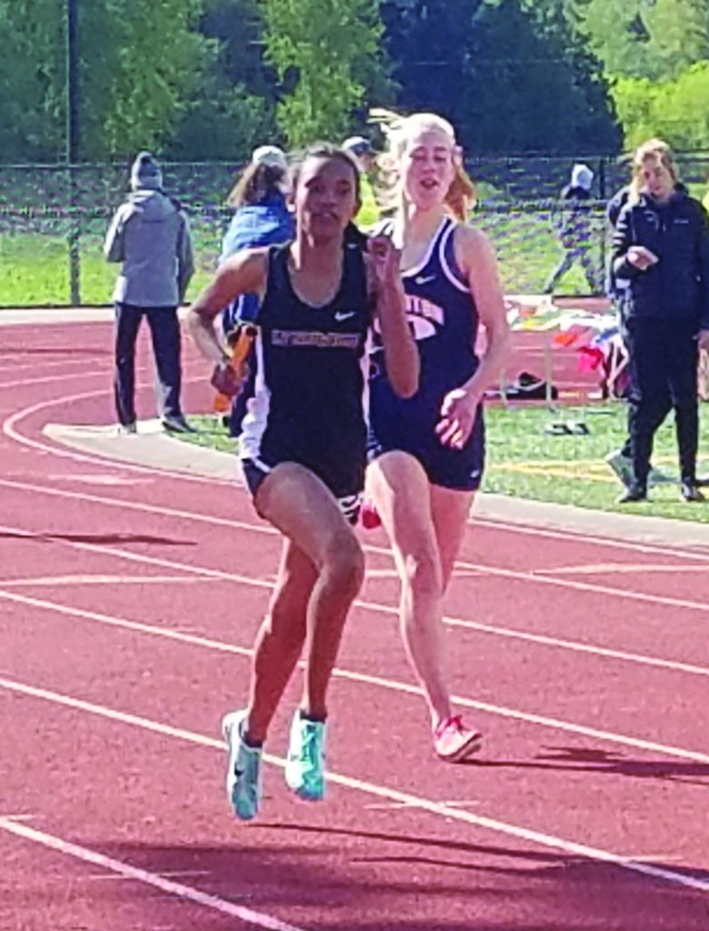 Donna Harris, Women's 400m.