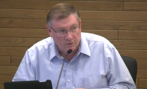 Lynnwood Councilmember Goerge Hurst at May 13 Phase 2 Project Public Hearing.