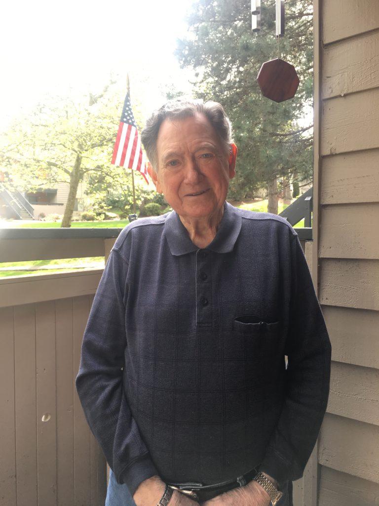 "Eugene ""Gene"" Alfred Turner at his Lynnwood home."