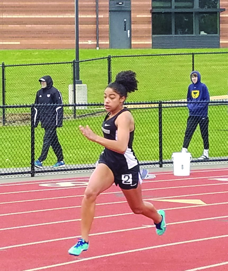 Alayjah Andry, Women's 200m.