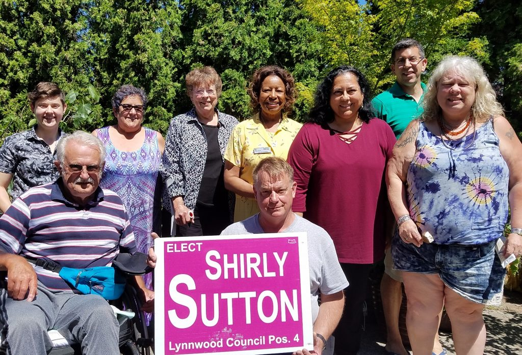 Shirely Sutton campaign kick off