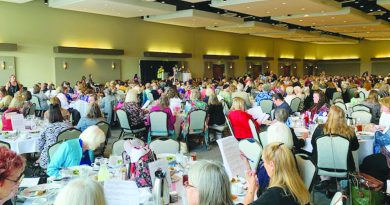 Domestic Violence Services of Snohomish County's 10th annual Handbag Auction and Luncheon at Angel of the Winds Arena on June 6.
