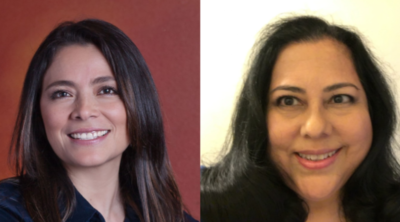 Photos of Lynnwood City Council Position 5 candidates Julieta Altamirano-Crosby (left) and Rosamaria Graziani (right). Graziani alleges Crosby does not meet the state requirements for elective office.