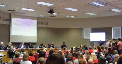 Edmonds School District meeting