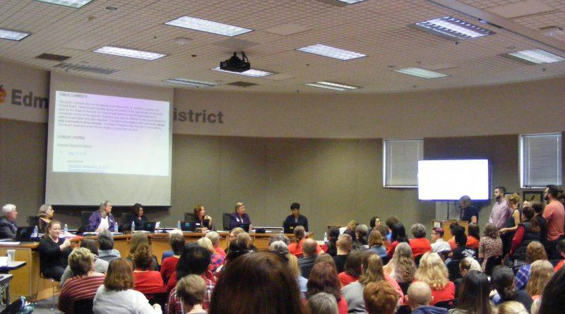 Edmonds School District meeting