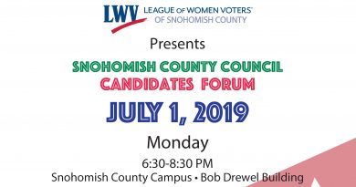 Candidates Forum for Snohomish County Council, Districts 2 and 3