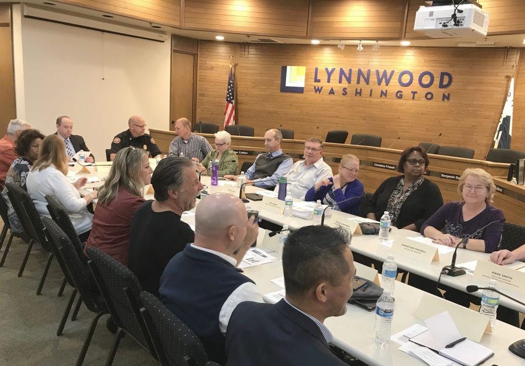 Lynnwood City County Meeting