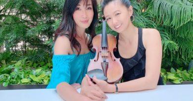 Harumi Makiyama (piano) and Pamela Liu (violin)