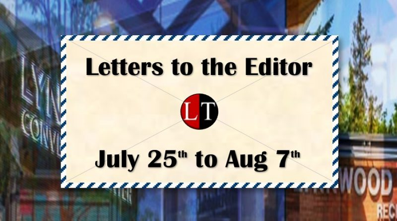 Lynnwood Letter to the Editor