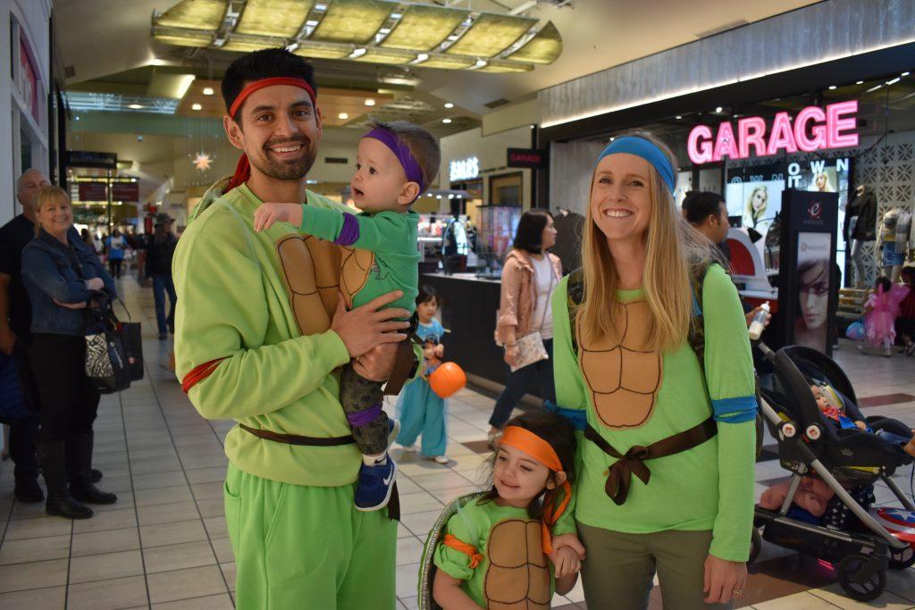 Halloween at Alderwood Ninja Turtles Family
