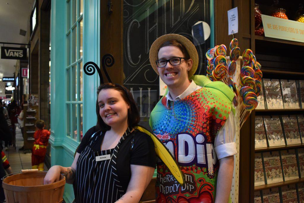 Halloween at Alderwood Candy Costume
