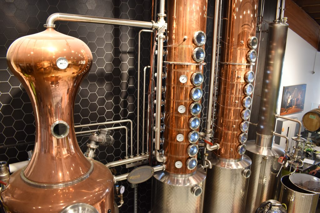 Edmonds' waterfront Scratch Distillery opened in 2015.