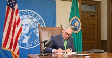 jay inslee signed bill package in response to state COVID-19 efforts