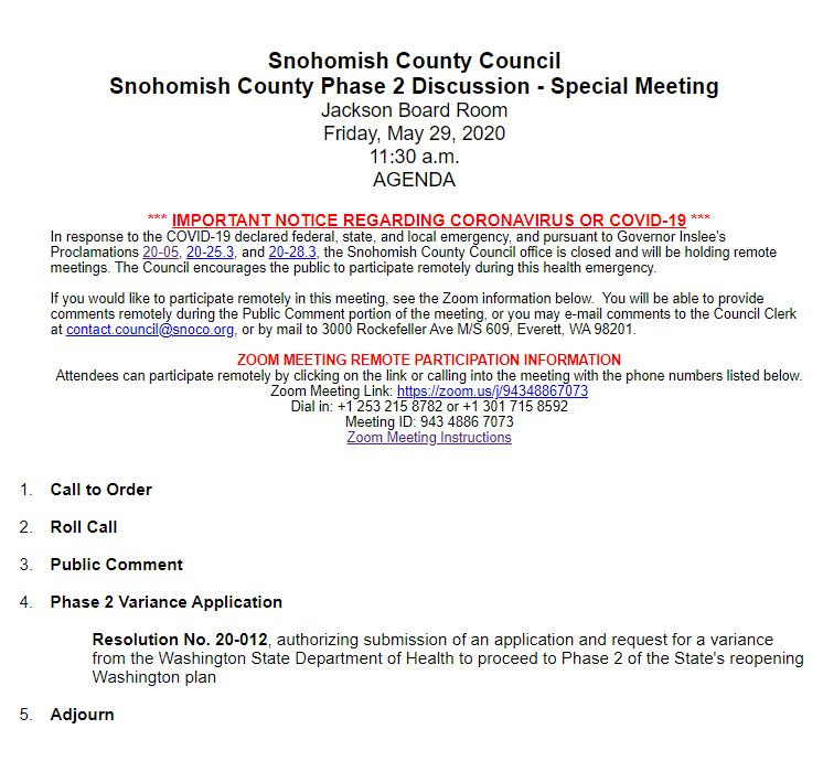 Snohomish County Council