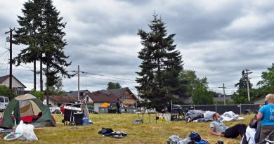 Everett encampment
