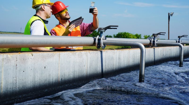 Lynnwood Wastewater Treatment Plant Repair