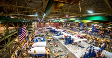 787 Assembly factory - Everett, WA