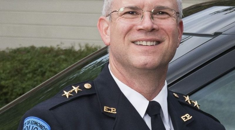 Jim Lawless, Edmonds Police Chief