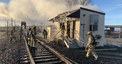Marysville BNSF Fire