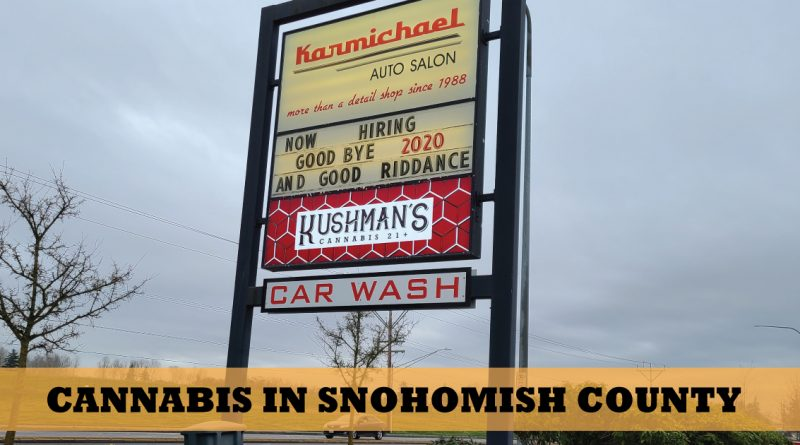 Cannabis in Snohomish County