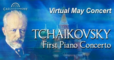 Cascade Symphony Orchestra virtual concert May 3