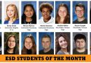 ESD March Students of the Month