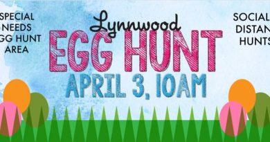 Lynnwood Easter egg hunt