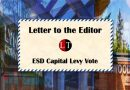 Letter to the Editor: ESD Capital Levy Vote
