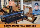 Memorial for Lake Stevens trooper defaced