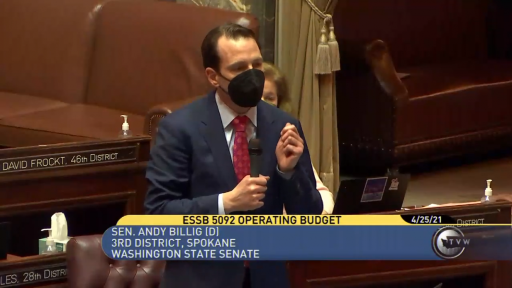 $59 billion biennium budget