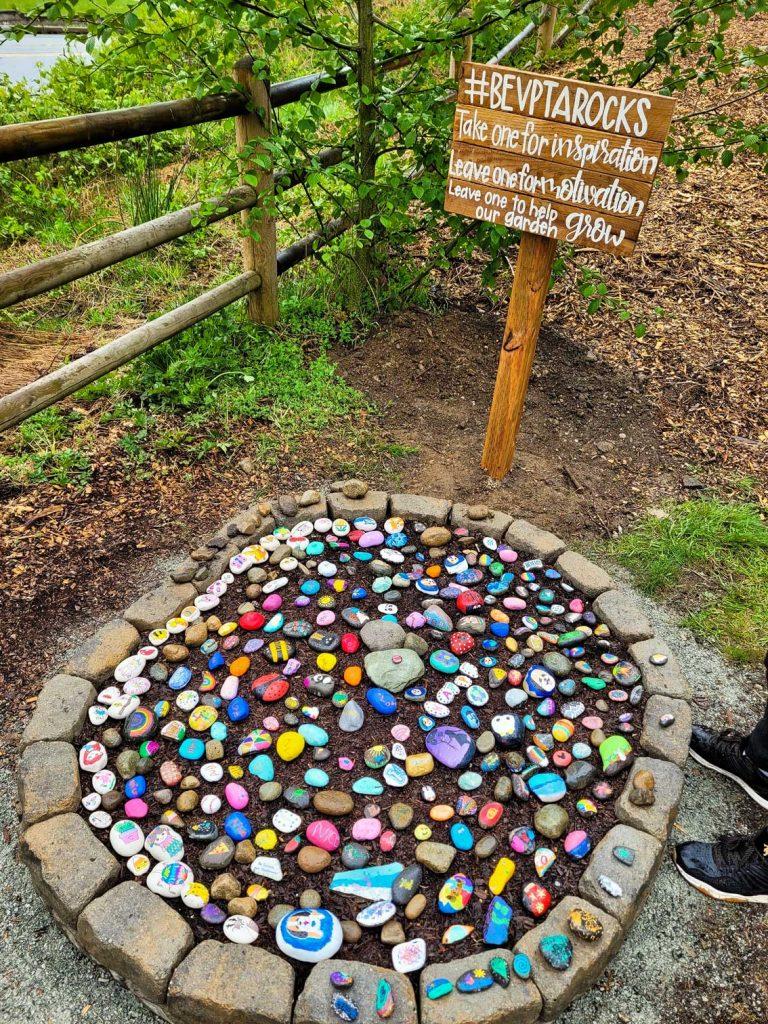 beverly elementary rock garden