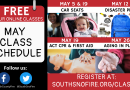 South County Fire: Free online safety classes in May