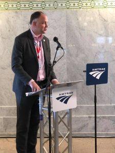 Amtrak President Stephan Gardner