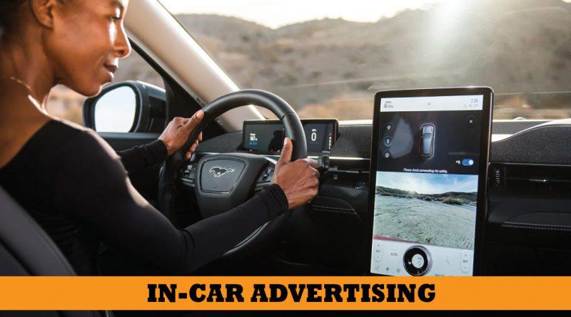in-car advertising