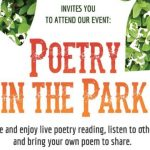 Community invited to Poetry at Lynndale Park