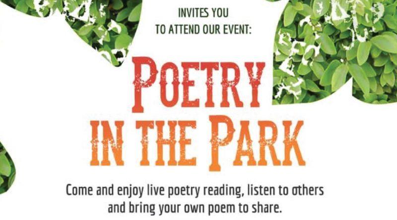 poetry in park