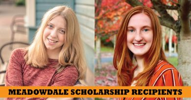Two Meadowdale students recipients of education scholarship