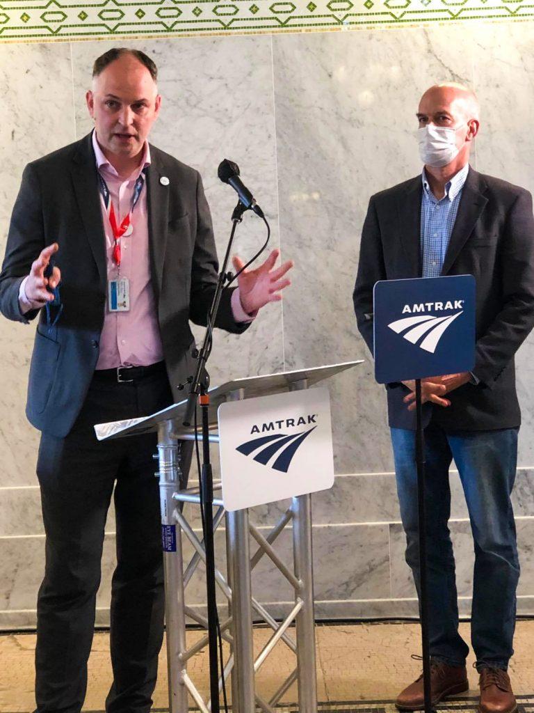 Amtrak washington state