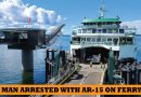Man with loaded AR-15 arrested on Mukilteo ferry