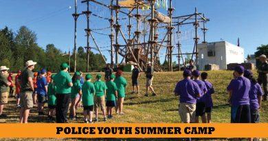 Lynnwood Police Youth Camp