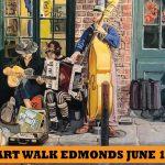Art Walk Edmonds on June 17