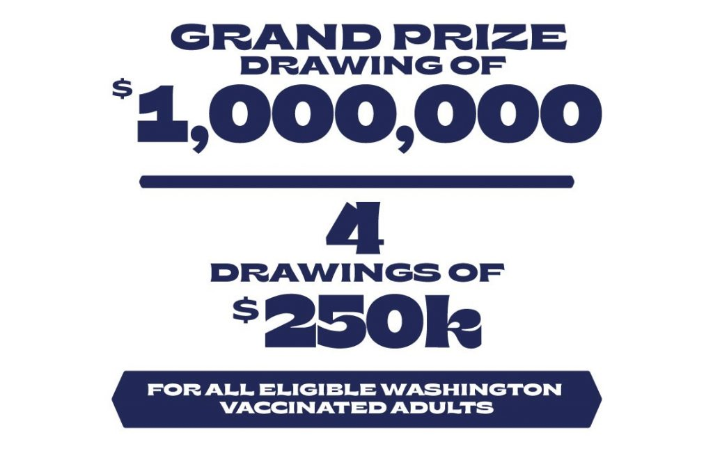 Inslee Vaccination Lottery