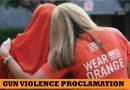 Edmonds declares National Gun Violence Awareness Day