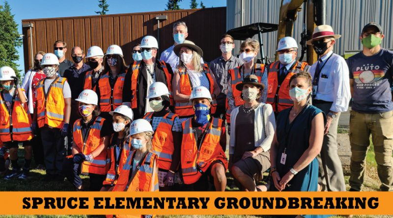 spruce elementary groundbreaking
