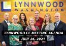 Upcoming Lynnwood City Council Agenda