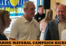 Joe Marine mayoral campaign kicks off at Tapped Mukilteo